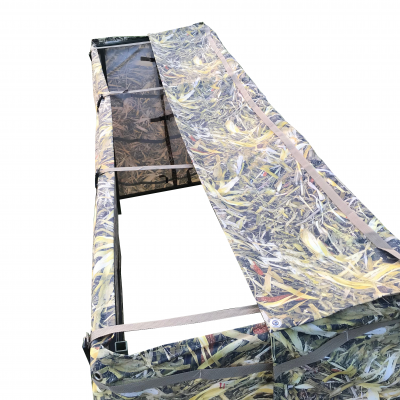 Corn a frame with slider cover on